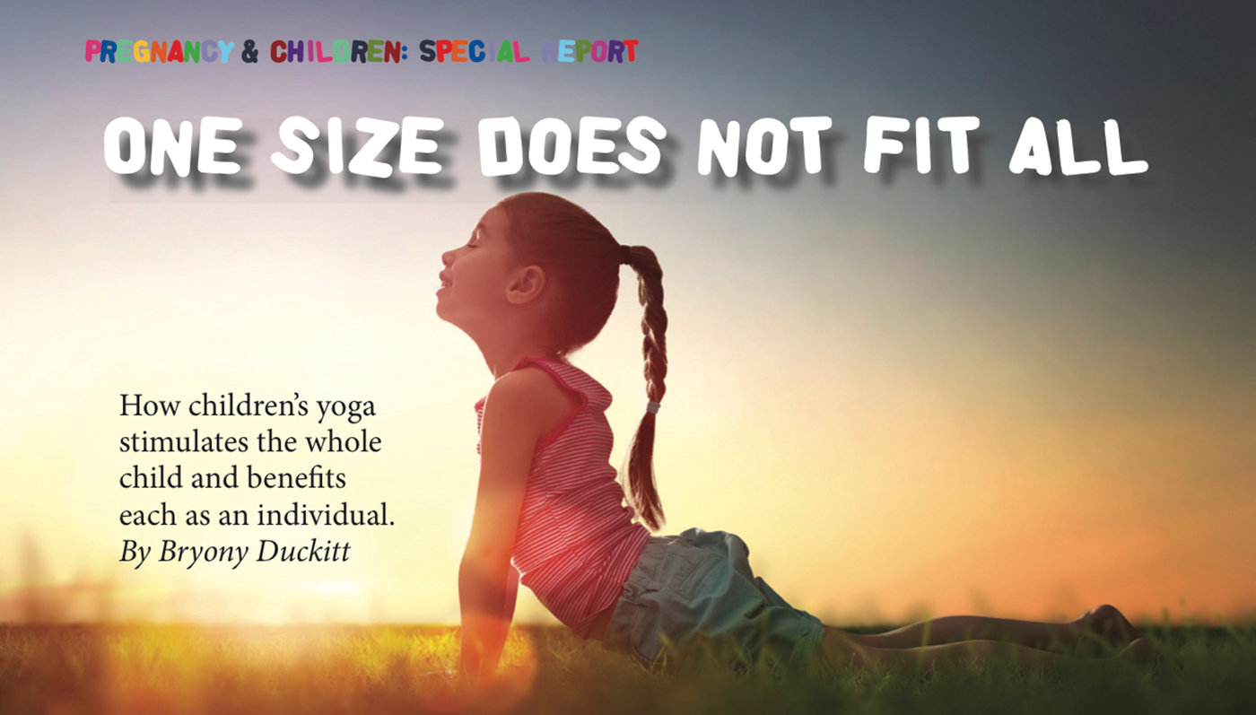 Yogabeez Bryony Duckitt article in Om Yoga Magazine – One size does not fit all