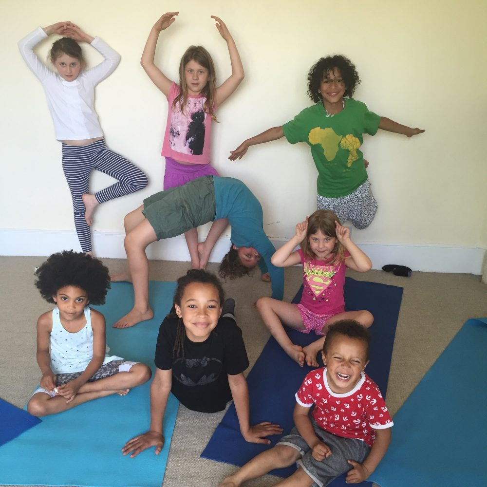 yoga practices to support a child's inner creativity