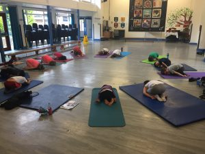 YogaBeez Afterschool yoga club, SW London