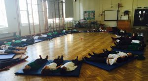YogaBeez yoga in the school curriculum, SE London
