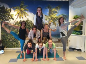 YogaBeez Yoga Teacher Training Graduates in Helsinki