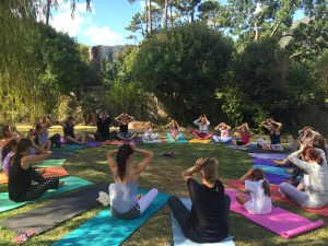 YogaBeez yoga and mindfulness teacher training course in Cape Town