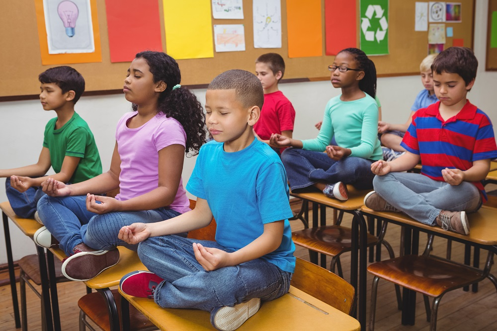Mindfulness and meditation in the classroom - yoga workshop INSET days