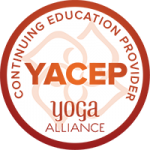 YogaBeez is a Yoga Alliance Continuing Education Provider (YACEP) - YACEP logo