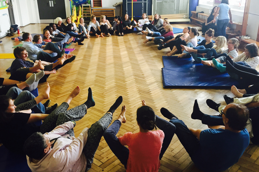 YogaBeez yoga and mindfulness INSET workshops for schools
