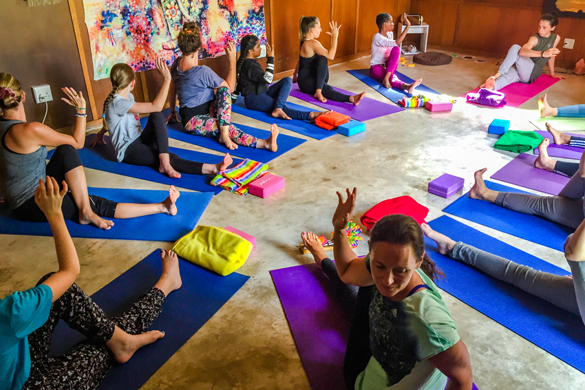 YogaBeez teach yoga and mindfulness to young people in South Africa