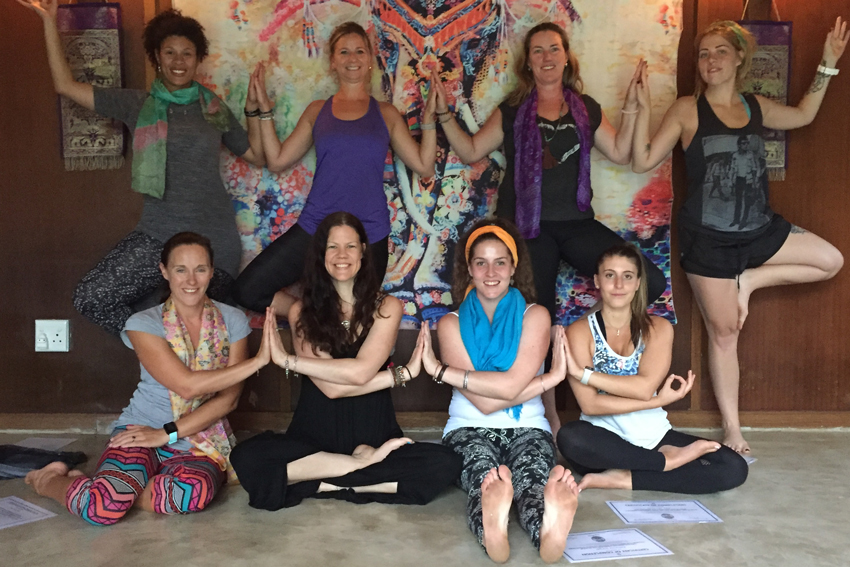 YogaBeez yoga teacher training course in South Africa